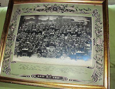 Altes Foto Andenken a.m. Dienstzeit 1913 Comp. 4 Lothr. Inftr. Regt 136 Strassbu ()