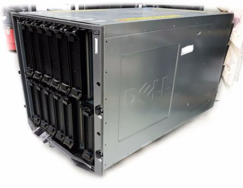 Dell Poweredge M1000e Blade Server Enclosure Chassis