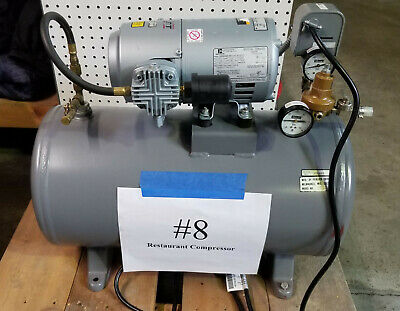Perlick Model 669 Air Compressor With Gast Pump Emerson Motor - Stock 08