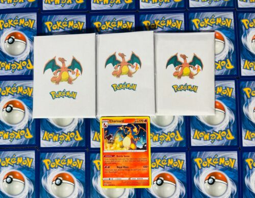Pokémon 10 Card Charizard Lot - Guaranteed Charizard + Holo Foils Amazing Deal!