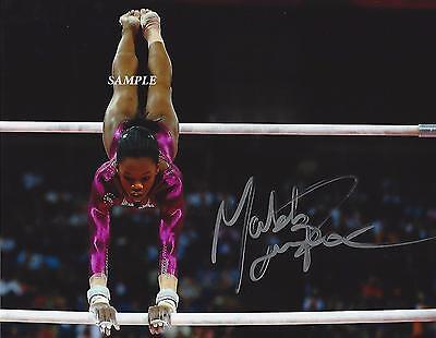 Gabby Douglas Reprint Autographed Signed Picture Photo Usa Olympics Gymnastics