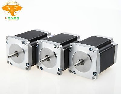 Us Freestepper Motor 3pcs Nema23 270 Oz-in 3.0a 23hs8430 57bygh Cnc Mill Cut