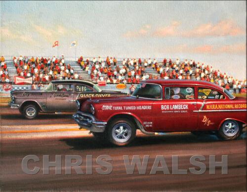Drag Racing action prints...Bob Lambeck