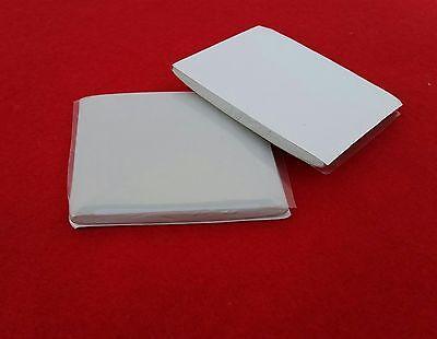 White Candle Mold Sealer ~ 3ea ~ Metal, Aluminum Pillar Molds  Putty Type