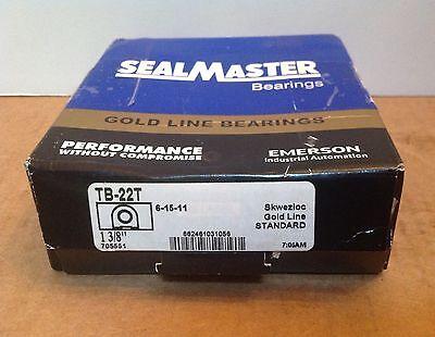 New Sealmaster Tb-22t Pillow Block Bearing 1-38 Bore