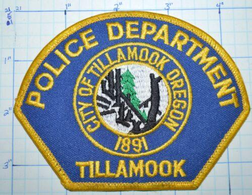 OREGON, CITY OF TILLAMOOK POLICE DEPT PATCH