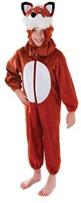 BOYS GIRLS KIDS FOX FARM ANIMAL FANCY DRESS COSTUME VARIOUS SIZES BOOK - Boys Fox Costume