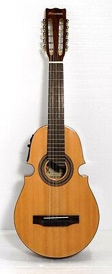 10 String Acoustic  Puerto Rican Cuatro Guitar, W/3 Band EQ