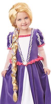Rapunzel Child Costume Long Blonde Braid Wig](Kids Rapunzel Wig)