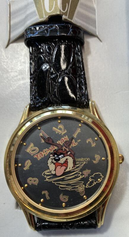 Vtg 1989 Looney Tunes Armitron Collectibles Taz Tasmanian Devil Watch