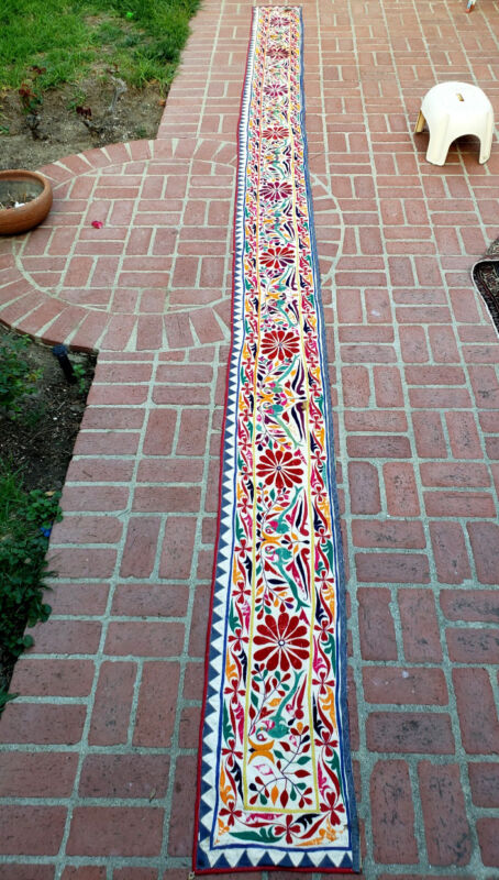 A Long Oriental Embroidery