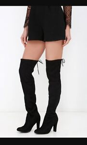 Steve Madden gorgeous thigh highs