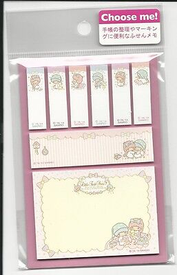 Sanrio Little Twin Stars Sticky Notes Tabs From Japan