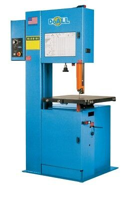 Doall 2013-v3 Vertical Contour Band Saw