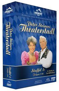 Peter Steiners Theaterstadl - Staffel 1 (Folgen 1-16) 8 DVD BOX NEU + OVP!