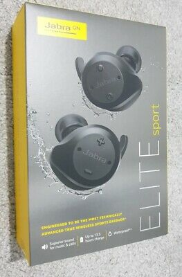 Jabra Elite Sport True In-Ear Wireless Headphones - excellent condition. Jabra In Ear Microphone