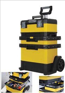 Carrello portautensili trolley cassetta borsa con ruote - Cassetta porta attrezzi stanley con ruote ...