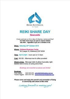 Reiki Australia Reiki Share Day Wallsend Newcastle Area Preview