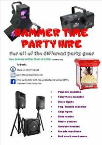 Hammer Time Party Hire Collie Collie Area Preview