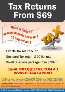 Eltax Accounting and Taxation North Sydney North Sydney Area Preview