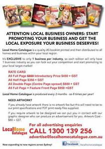 DO YOU WANT TO PROMOTE YOUR LOCAL BUSINESS? Seven Hills Blacktown Area Preview