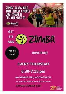 Zumba Forest Hill/Nunawading- First class  is FREE! Forest Hill Whitehorse Area Preview