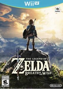 Wii U NEUF Zelda breath of the wild