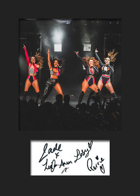 LITTLE MIX #9 Signed Photo Print A5 Mounted Photo Print - FREE DELIVERY