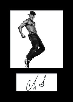 CHANNING TATUM #2 A5 Signed Mounted Photo Print (REPRINT) - FREE DELIVERY