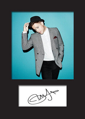 OLLY MURS #1 Signed Photo Print A5 Mounted Photo Print - FREE DELIVERY