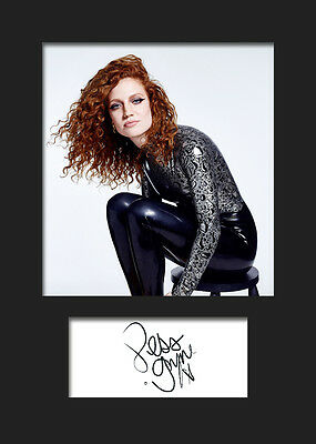 JESS GLYNNE #2 A5 Signed Mounted Photo Print (Reprint) - FREE DELIVERY