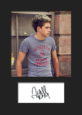 NIALL HORAN (One Direction) #2 Signed A5 Mounted Photo Print - FREE DELIVERY