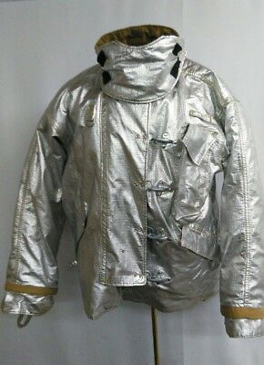 Morning Pride Proximity Turnout Bunker Coat Aluminized Size 48 2935 34
