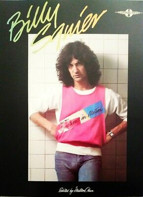BILLY SQUIER GUITAR TABLATURE / DON'T SAY NO-EMOTIONS / BILLY SQUIER GUITAR TAB