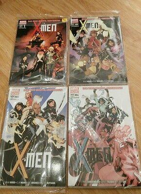X-Men #1 - #4 (Panini 2013 - 2015)
