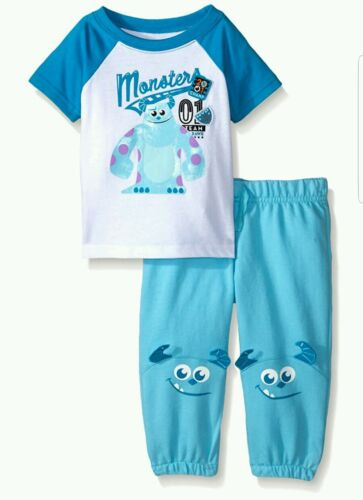 Disney Baby-Boys Monster Joggers Set 3-6 Months