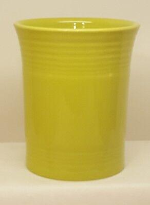 Fiestaware Lemongrass Utensil Crock or Holder Fiesta Lime Kitchen Crock