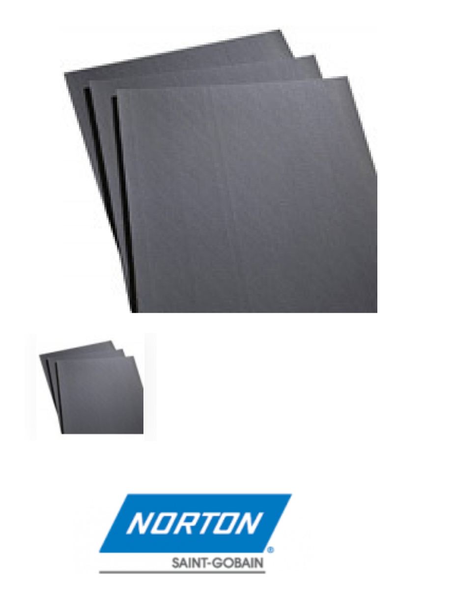 Norton Screen-Bak Durite Q421 P100 SC Medium Grit Screen Sheet box of 25 sheets