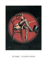 Ex Libris ,robin Ri(??) , Per Giuseppe Zanasi, Anni 2000 Splendido E Perfetto - splendid - ebay.it