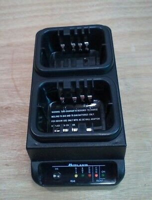 New Old Stock Midland Lmr Battery Charger Model 70-c480 For 9.6 V Batteries