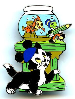 Tokyo Disney Resort - Character Sketch Series - Figaro (Pinocchio) Pins
