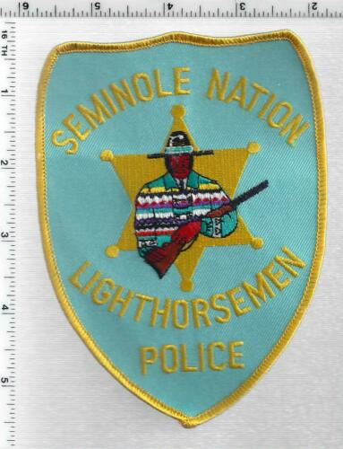 Seminole Nation Lighthorseman Police (Oklahoma) 1st Issue Shoulder Patch