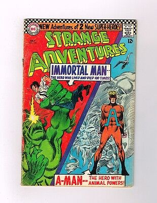 STRANGE ADVENTURES #190 Silver Age DC! 1st ANIMAL MAN in costume!  - Animal Man Costume