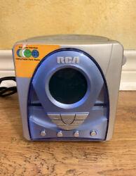 RCA Alarm Clock Radio CD Player Multi Color Display Analog/Digital Model RP5620A