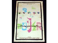 "27/""X41/"" /""The Amazing Transparent Man/"" Original Movie Poster Ltd Print#59//275"