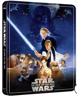Star Wars Episode VI Return Of The Jedi pre-order 4K UK Steelbook Region Free