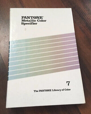 Vintage Pantone Metallic Color Specifier Binder 1980s