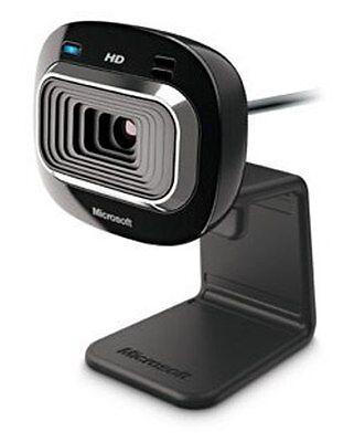 Microsoft LifeCam HD-3000 USB Camera HD Skype WebCam Mic Video Chat Windows 10