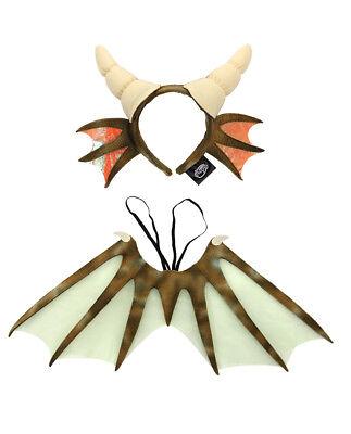 Mini Dragon Costume Kit for Adults & Kids - Childrens Dragon Costume