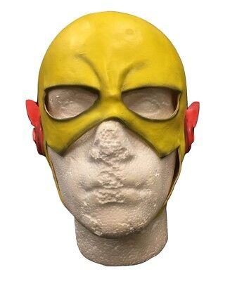 UK Flash Reverse Gelb Latex für Erwachsene & Kinder Kostüm Halloween Cosplay 1 2